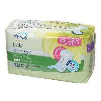 Hygiene Intime  Serviettes hygieniques pour fuites urinaires TENA - Incontinence legere - Lot de 12