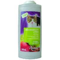 Hygiene Litiere Dejections AIME Desodorisant litiere - Senteur pomme cannelle - 700 ml - Pour Chat
