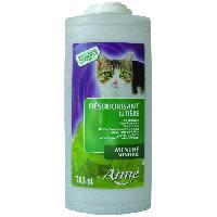 Hygiene Litiere Dejections AIME Désodorisant pour litiere menthe 700ml - Pour chat