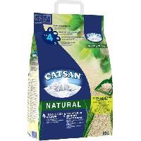 Hygiene Litiere Dejections CATSAN NATURAL Litiere vegetale agglomerante - Pour chat - 20 L