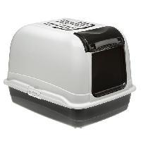 Hygiene Litiere Dejections FERPLAST BELLA CABRIO - Maison de toilette maxi - Noir