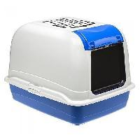 Hygiene Litiere Dejections FERPLAST BELLA CABRIO Maison de toilette maxi - Bleu