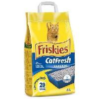 Hygiene Litiere Dejections FRISKIES Catfresh Litiere classic - 5kg