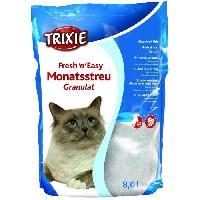Hygiene Litiere Dejections Fresh'n'Easy Granules 8 l pour chat - Trixie Generique