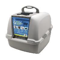 Hygiene Litiere Dejections JUMBO Maison de toilette pour chat 46x55x45 cm