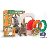 Hygiene Litiere Dejections LITTER KWITTER Kit de toilette pour chats