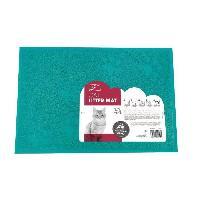 Hygiene Litiere Dejections MPETS Tapis sortie maison de toilette - Pour chat - 30x40cm - Bleu
