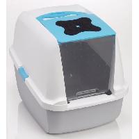 Hygiene Litiere Dejections Maison de toilette 55.5x42x34cm - Pour chat