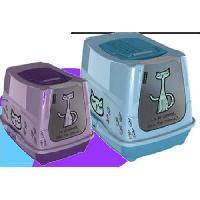 Hygiene Litiere Dejections Maison toilette 2 couleurs - Pour chat