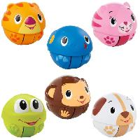 Imagination BRIGHT STARTS Balles animaux giggables