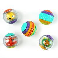 Imagination BRIGHT STARTS Balles d'activites Shake et Spin