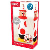 Imagination BRIO - 30230 - Clown A Empiler 60 Ieme Anniversaire