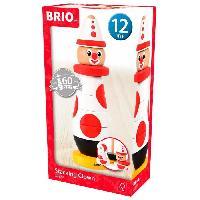 Imagination BRIO - 30230 - Clown A Empiler 60 Ieme Anniversaire - Jouet en bois - Brio World