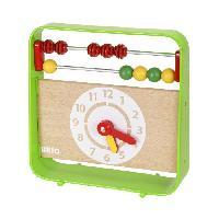 Imagination BRIO - 30447 - Boulier Avec Horloge - Jouet en bois