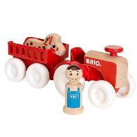 Imagination BRIO - My Home Town - Tracteur Et Remorque