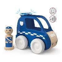 Imagination BRIO - My Home Town - Voiture De Police Son Et Lumiere