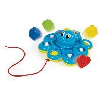 Imagination CLEMENTONI Baby - Pieuvre trieuse de formes - Jeu d'éveil