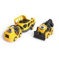 Imagination JOHN DEERE Coffret de 2 camions Construction Crusiers Go Grippers - Multicolore - Aucune