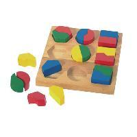 Imagination Pédagogie Montessori - Géobois la symétrie