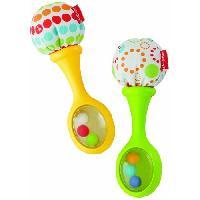 Imitation Instrument Musique FISHER-PRICE - Mes Premieres Maracas - Instruments de musique pour enfant - Fisher Price