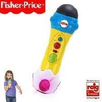 Imitation Instrument Musique FISHER PRICE Micro enregistreur Rap
