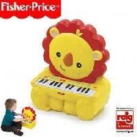 Imitation Instrument Musique FISHER PRICE Piano électronique Lion