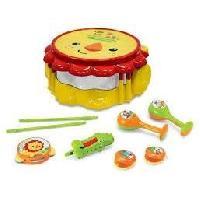 Imitation Instrument Musique FISHER PRICE Tambour Lion