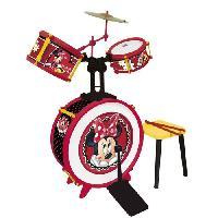 Imitation Instrument Musique MINNIE Batterie 3 element avec siege - Disney