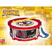 Imitation Instrument Musique SPIDERMAN Tambour Spiderman En Boite