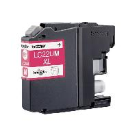 Impression - Scanner BROTHER Cartouche LC22UM - Magenta