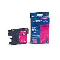 Impression - Scanner BROTHER Cartouche d'encre LC-1100 - Magenta - Haute capacité - 16ml - 750 pages