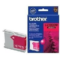 Impression - Scanner Brother LC1000M Cartouche d'encre Magenta