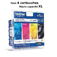 Impression - Scanner Brother LC1100HY Cartouches d'encre Multipack Coul