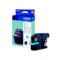 Impression - Scanner Brother LC123C Cartouche d'encre Cyan