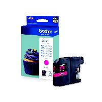 Impression - Scanner Brother LC123M Cartouche d'encre Magenta
