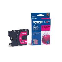 Impression - Scanner Brother LC980M Cartouche d'encre Magenta