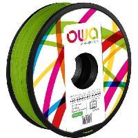 Impression - Scanner OWA Bobine de Filaments pour imprimante 3D - PLA Hi - Vert