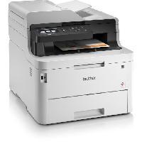 Imprimante BROTHER Imprimante multifonction Laser couleur 4-en-1 LED - MFC-L3770CDW - Wifi-Ethernet et Recto-Verso intégral.