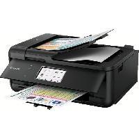 Imprimante CANON Imprimante jet d'encre Pixma TR8550 Multifonction 4 en 1 Noire - WiFi - Ethernet - Couleur - A4