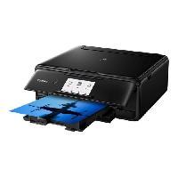Imprimante CANON Imprimante jet d'encre  Pixma TS8150 Multifonction 3 en 1 Noire - WiFi - Couleur - A4