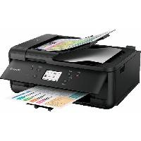 Imprimante Imprimante jet d'encre Pixma TR7550 Multifonction 4 en 1 Noire - WiFi - Ethernet - Couleur - A4