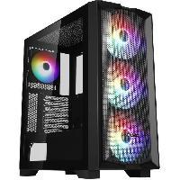 Informatique Boitier PC Sans Alimentation - ABKONCORE - H450X - Moyen tour - Format ATX - Noir (ABKO-H-450X-G)