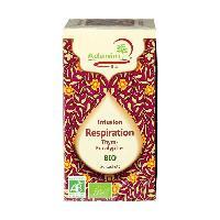 Infusion 20 Sachets d'infusions respiration de thym et eucalyptus bio - 45 g