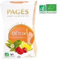 Infusion Infusion Detox - Framboise. Citron Vert - Bio