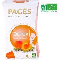 Infusion Infusion Detox - Romarin. Abricot - Capsules - Bio