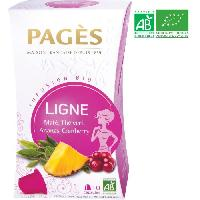Infusion Infusion Ligne - Mate. The Vert. Ananas. Cranberry - Capsules - Bio