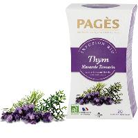 Infusion Infusion Thym Lavande Romarin - Pages