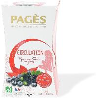 Infusion Infusion circulation -Vigne rouge. mure. myrtille- - Pages