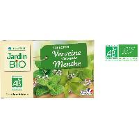 Infusion Infusion de verveine citronnee et menthe bio - 30 g