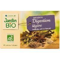 Infusion JARDIN BIO Infusion digestion léger bio - 30g